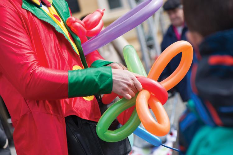 ballonnen animatie kinderen